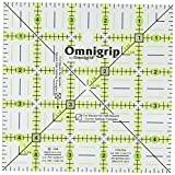 Dritz Omnigrip 5-Inch by 5-Inch Non-Slip, Quilter's Ruler