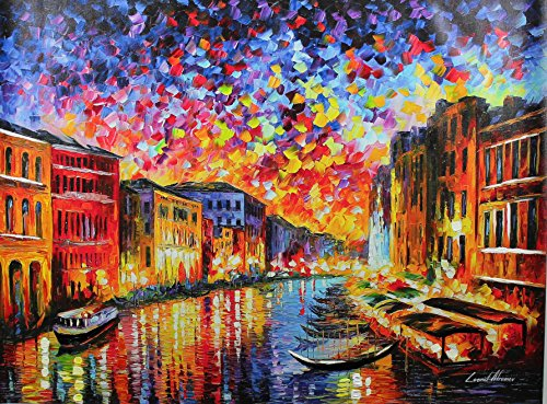 Canal Grande Venice (Venice Grand Canal (30 x 40) - Gallery Proof)