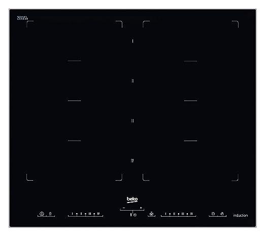 Beko HII 68600 PTX hobs - Placa (Integrado, Inducción, Negro ...