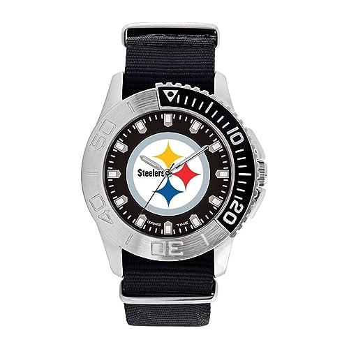 Gold De Relojes Nfl Arranque Gifts Steelers Pittsburgh Reloj Q drWQxBoEeC