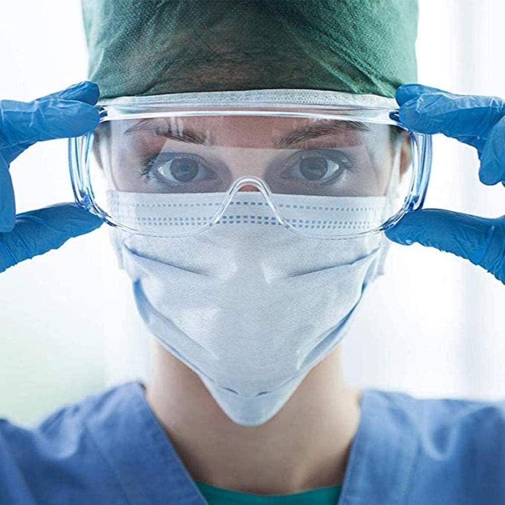 Gafas Médicas Antiniebla Gafas De Seguridad Virus Médicos Gafas Antiniebla Quirúrgico contra Salpicaduras De Líquido Gafas Protectoras sobre Gafas Protección Ojos Aislamiento Anteojos