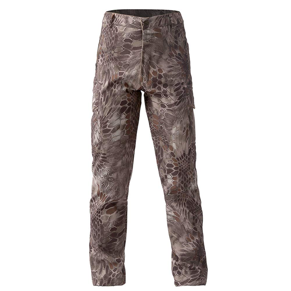 b7b996edff Sylar Pantalones Hombre Trekking Camuflaje Impermeable A Prueba Prueba  Prueba De Viento Pantalones Al Aire Libre