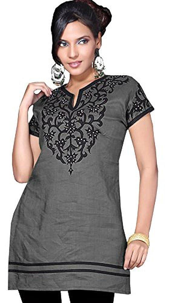 4c088dfd4c774f Jayayamala Noir Tunika Bluse et blanc broderie dentelle Boho Hippie Tunique  (50)  Amazon.fr  Vêtements et accessoires