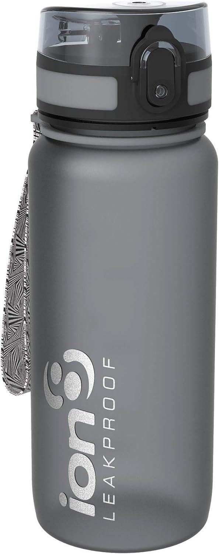 Ion8 Botella Agua Deportiva Sin Fugas, Sin BPA, 750 ml