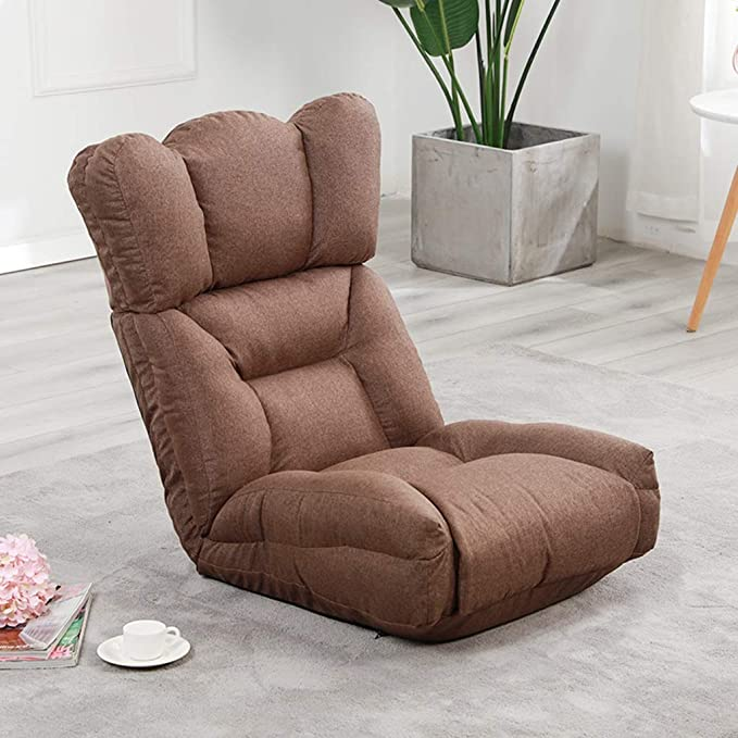 Amazon.com: XEWNEG Lazy Couch - Cojín plegable para sofá de ...
