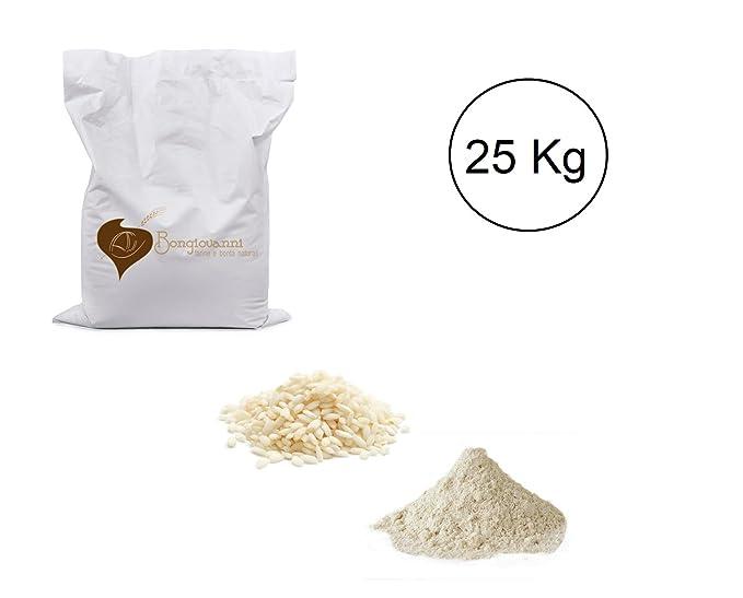 BIO de 25 kg de harina de arroz glutinoso