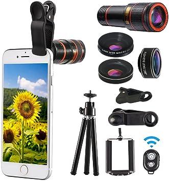 Smartphone – Objetivo de Cámara Accesorios Professional 12 x lente ...