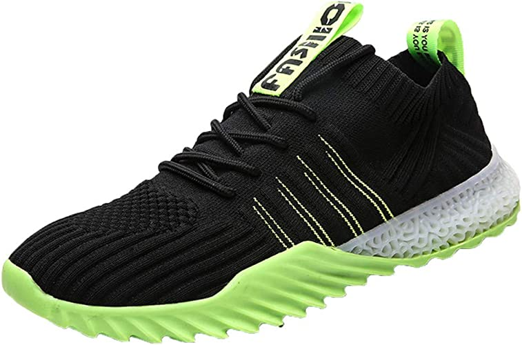 MENS FAUX SUEDE TRAINERS SPORTS GYM FITNESS RUNNING JOGGING SHOES SIZE UK 6-11