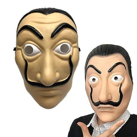 Amycute Máscara de Salvador Dali Careta Cosplay Disfraz ...