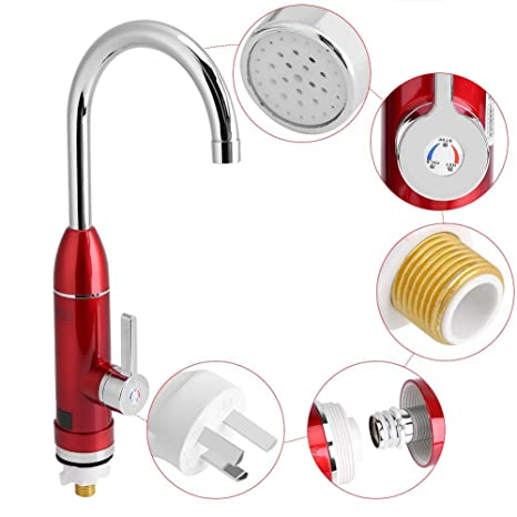 Amazon.com: 220V Electric Instant Heating Faucet Heater Tap ...