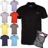 Kappa Poloshirt Ziatec Edition - Golf Shirt - Polohemd - Polo-Shirt + Ziatec Wäschenetz - 1er, 2er, 3er, 4er, 5er oder 6er Pack - Größe M - 4XL - Poloshirt für Sport, Freizeit und Beruf