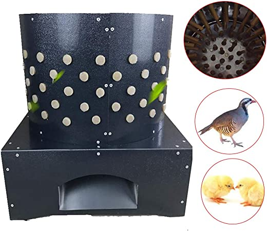 220V 110V Chicken Plucker Dove Feather Plucking Machine Poultry Birds Depilator