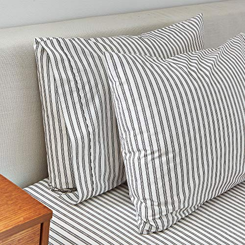 (Splendid Home Printed Sheet Collection Pillow case Set Standard Charcoal)