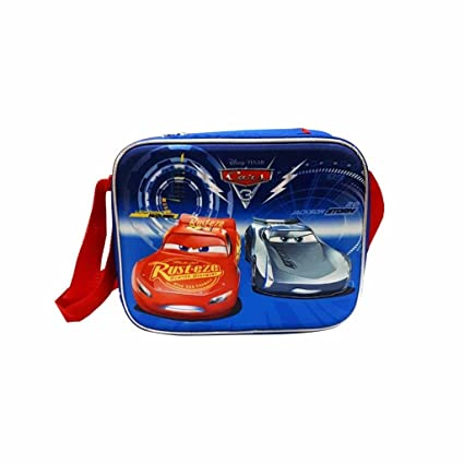 c48575a7e7c Amazon.com  Disney Pixar Cars 3 Deluxe Lunchbox 3D Insulated Lunch ...