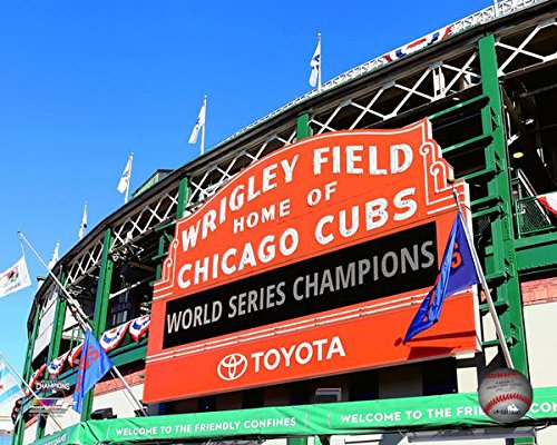 Chicago Wrigley Field 2016 Championship Sign 8