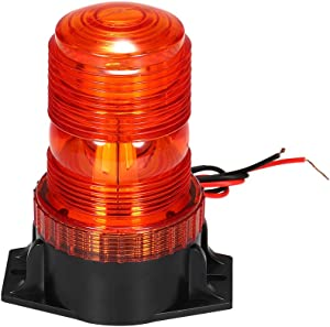 Emergency Warning strobe lights, KKmoon 30 LED amber beacon yellow Warning Safety Flashing light, for Forklift Truck Tractor Golf Carts UTV Car Bus, 15W, 9-30V