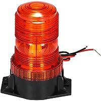KKmoon 30LED–Sirena Naranja LED indicador, 15W de Emergencia