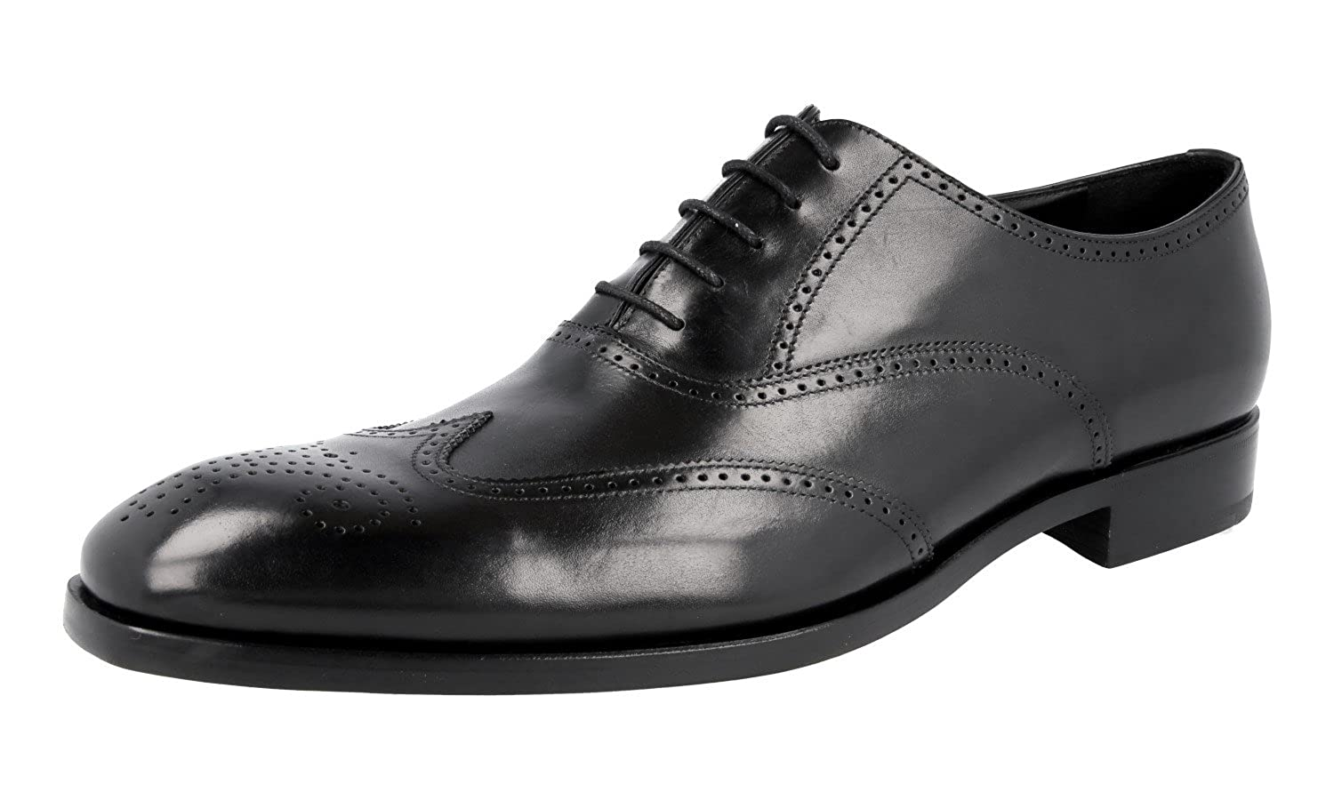 Men's 2EB124 Full Brogue Leather Business Shoes