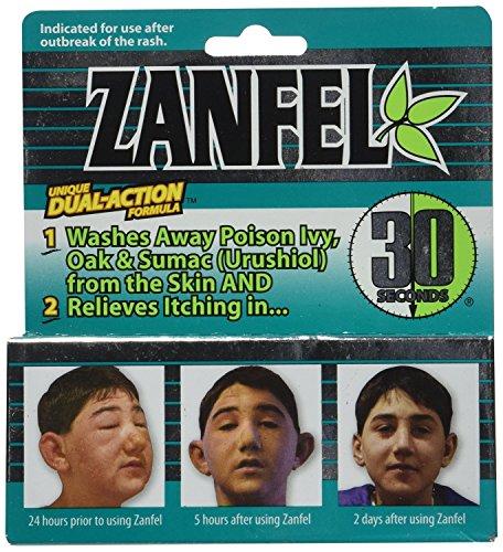 Zanfel Poison Ivy Oak And Sumac Wash, 1 oz.