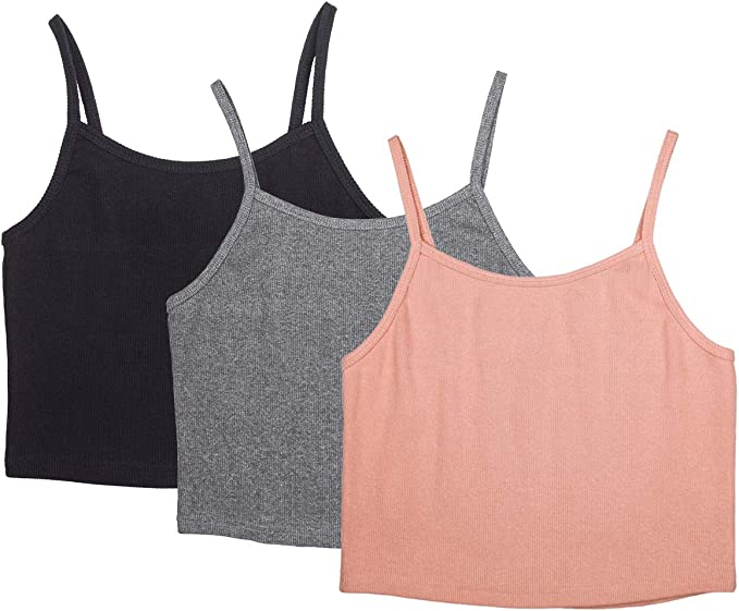 V Sport Boys 5-Pack Ribbed A-Line Tank Tops