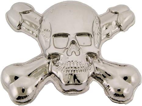 Silver Skull Crossbone Belt