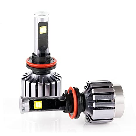 iiipiloting H11 LED Faros Bombillas H8/H9/H11 coche luz 60 W 6000LM Canbus