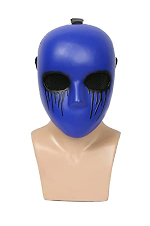 Mesky Eyeless Jack Máscara Mask en Halloween Cosplay para Adultos Casco de Cabeza Completa Anime Cosplay