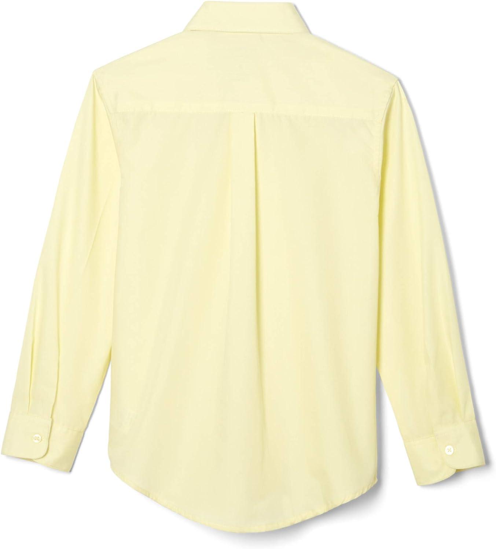 French Toast Big Boys Long Sleeve Poplin Dress Shirt