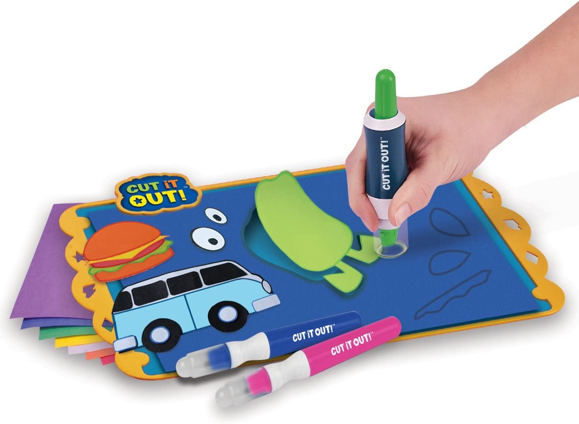 Amazon Com Cool Create Cut It Out Design Craft Set Toys Games