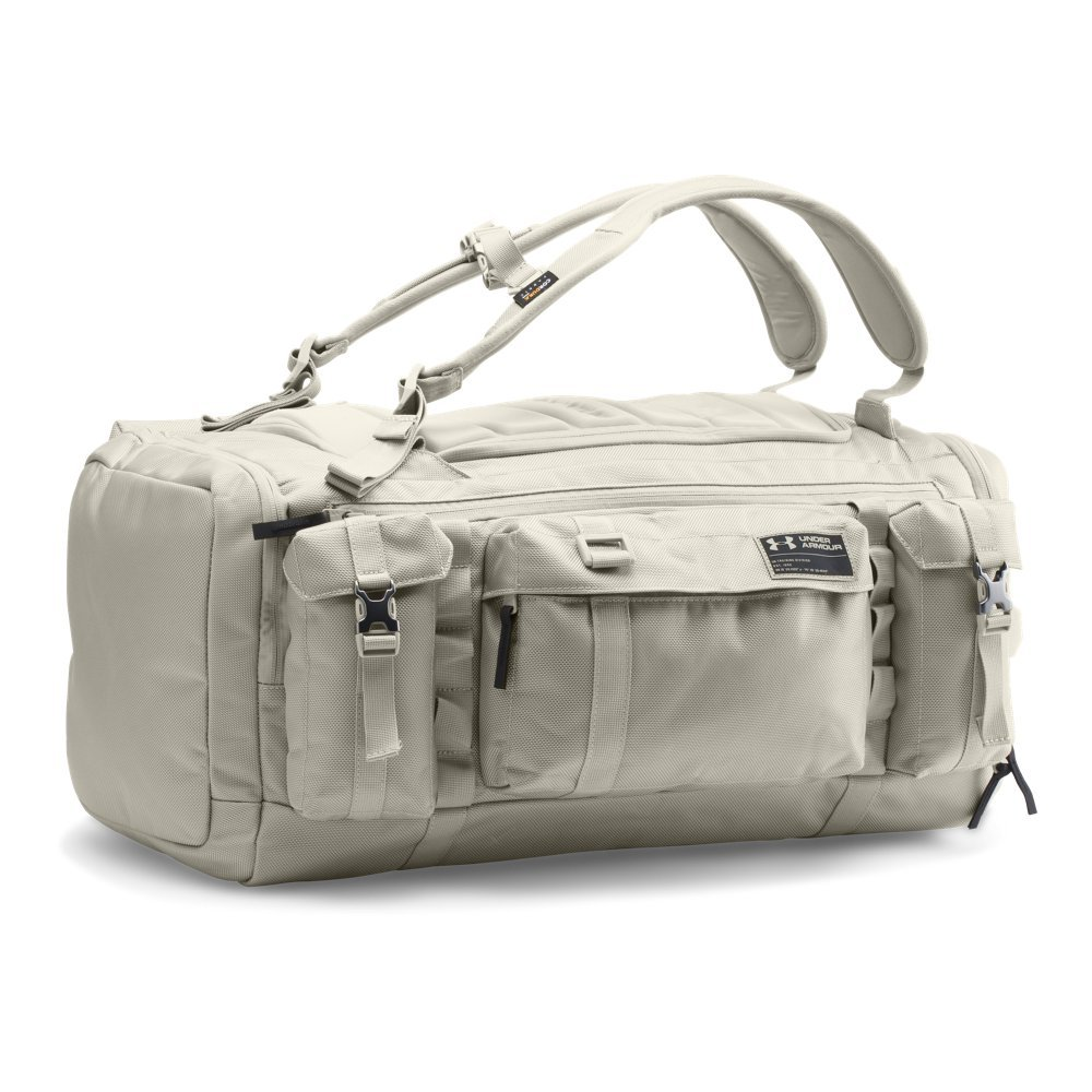 Under Armour CORDURA Range Duffle, Graystone/Black, One Size by Under Armour