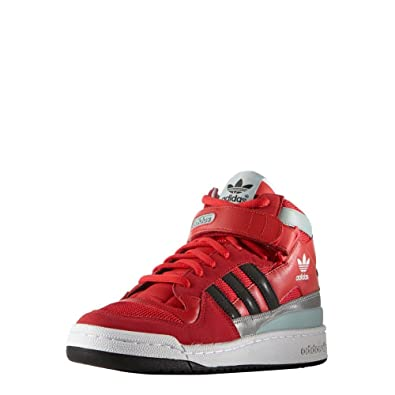2acbbf34956a adidas Shoes - Forum Mid Rs Winterized red Black White Size  42   Amazon.co.uk  Shoes   Bags