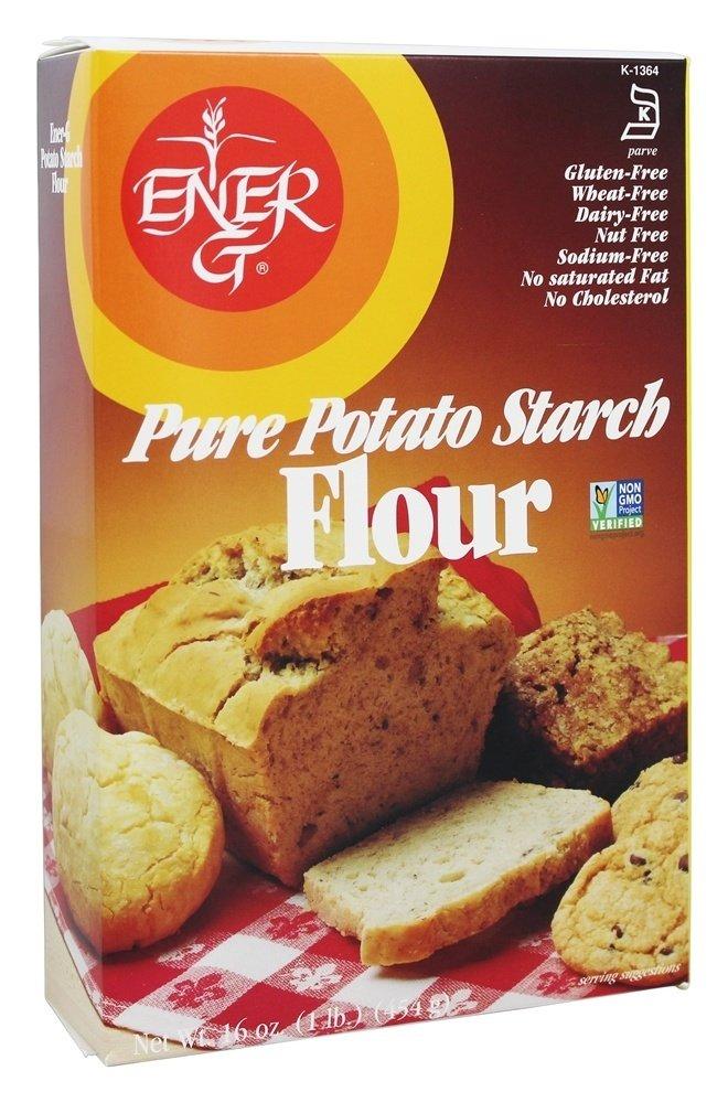 Ener-G - Pure Potato Starch Flour - 16 oz(pack of 2)