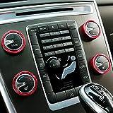 Emblem Trading Klima Heizungsregler Schalter Ringe Tunning S60 V60 XC60 S80 V40 V70 XC70
