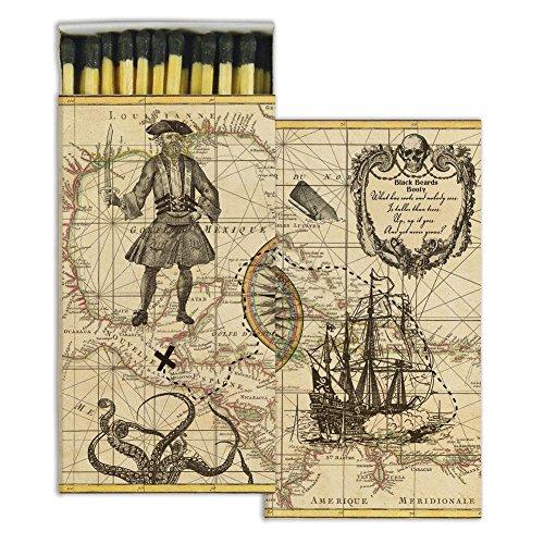 HomArt - Match Box Set of 2 - Pirate by HomArt
