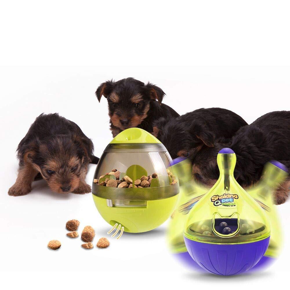 UUNITONA 2pcs Juguetes para Perros, Mascotas Perros Accesorios Pelota Dispensadora de Comida Fácil de Limpiar: Amazon.es: Productos para mascotas