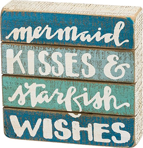 Best Wishes Signs - Primitives by Kathy Starfish Wishes Slat