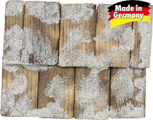hand beaten Roof shingle natural colours 100 Piece 4x2,3x0,3cm