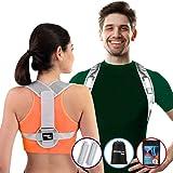 Active Jungle: Corrector de Postura Auto-Ajuste Frontal Patentado| Kit Unitalla Para Hombres, Mujeres, Adultos y Adolescentes
