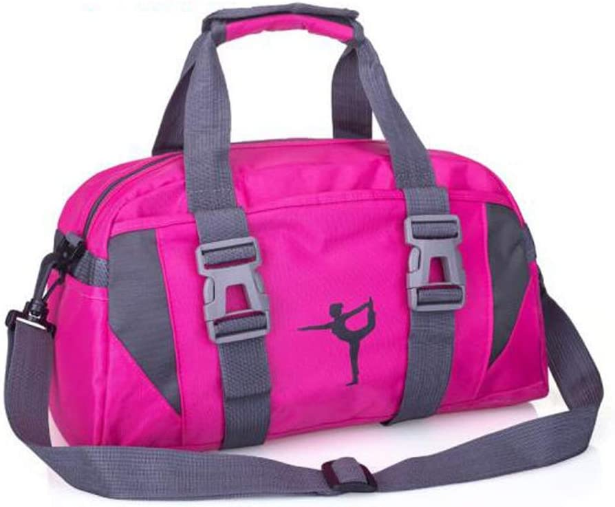 Waterproof Yoga Bag Color : Rose Kaiyitong Sports Bag Large Capacity Gym Bag Size: 402121cm Outdoor Travel Bag