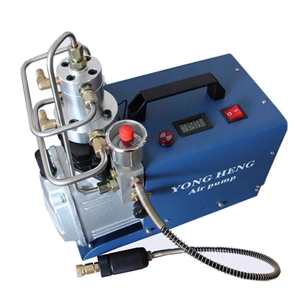 110V 30MPa Electric Air Compressor Pump PCP 300BAR 4500PSI Auto Shut YONG HENG