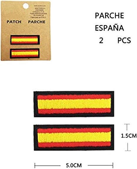 BANDERA DEL PARCHE BORDADO PARA PLANCHAR O COSER (ESPAÑA) (ESPAÑA ...