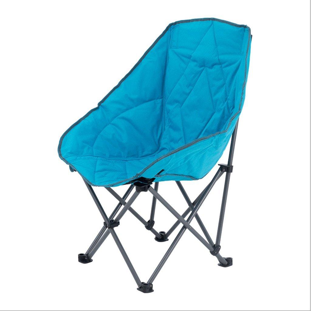 ZYN Klappstuhl Moon Stuhl Faulen Stuhl Gesteppten Casual Sessel Falten Sofa im Freien Tragbare Sonnenliegen