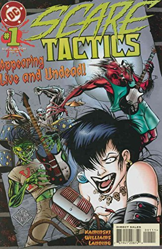 Scare Tactics #1 VF ; DC comic book (Best Of Scare Tactics)