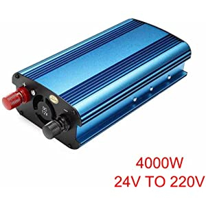 3000w Car Power Inverter Dc12v To Ac220v Dual Usb Charger Converter Inverter Nel Attractive Appearance Photovoltaik-zubehör