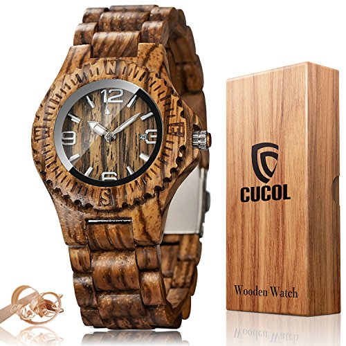 wooden watch display - 4