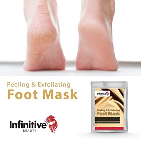 Calcetines de la córnea - Mascarilla para pelar los pies para eliminar la córnea - pies