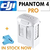 DJI Phantom 4 Professional Phantom 4 Series - Intelligent Flight Battery (High Capacity) Part64+Cleaning Cloth