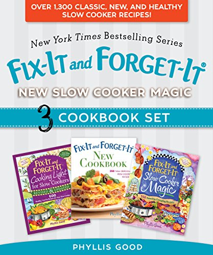 Fix-It and Forget-It New Slow Cooker Magic Box Set: Over 1,300 Classic, New, and Healthy Slow Cooker Recipes cover