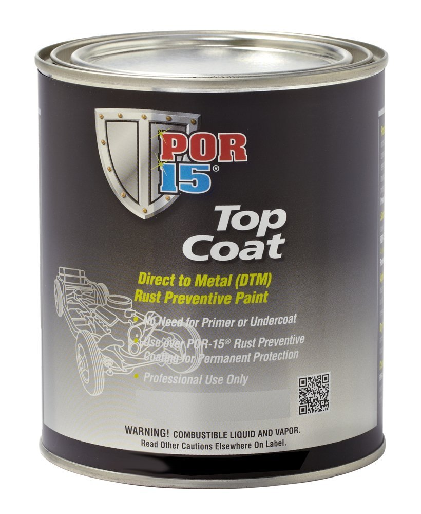 POR-15 46808 White Top Coat - 1 pint by POR-15
