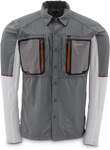 Simms Taimen Tricomp Shirt Long Sleeve New